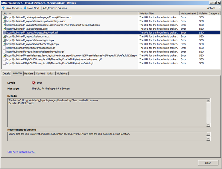 070710 1528 SharePoint213 SharePoint 2010 SEO Analysis with the IIS SEO Toolkit