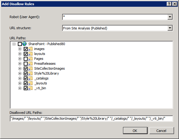 070710 1528 SharePoint226 SharePoint 2010 SEO Analysis with the IIS SEO Toolkit