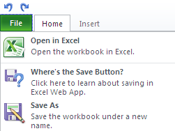 093010 2114 SaveBehavio1 Save Behaviour in SkyDrive and Office Web Apps