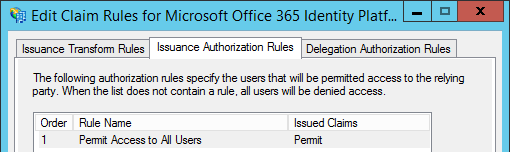 plan namespaces adfs office 365