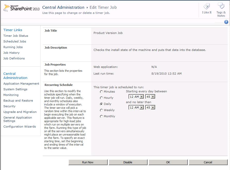 Product Version Job: DCOM 10016 strikes again - Tristan Watkins on