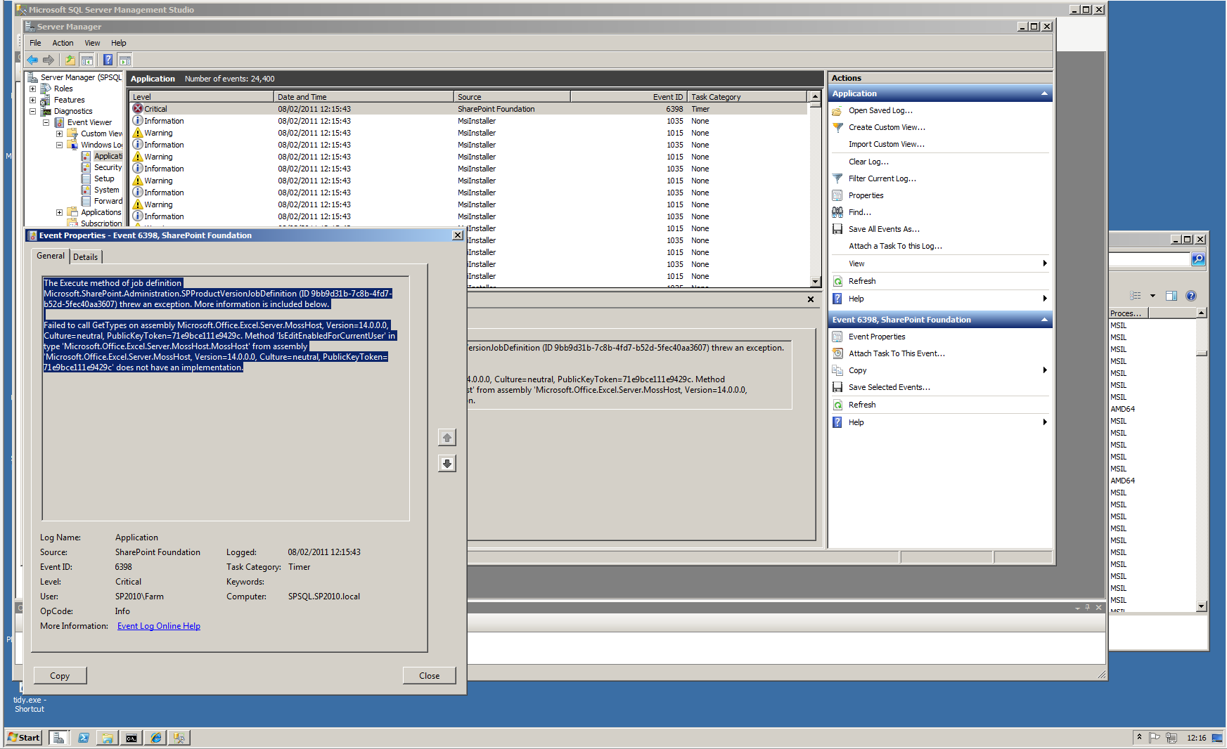 Testing Manage Patch Status - Tristan Watkins on IT Infrastructure