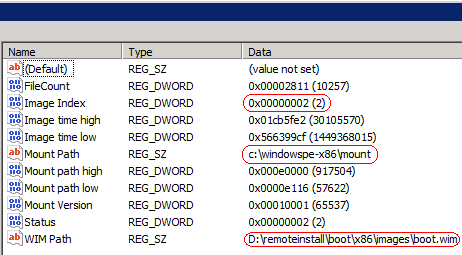 WDS RegKey Adding Drivers to Windows Deployment Services Boot Images